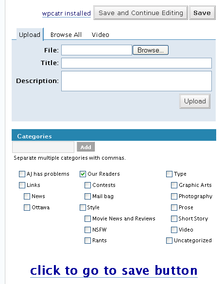 wordpress.com categories wpcatr