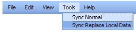 ScheduleWorld tools menu